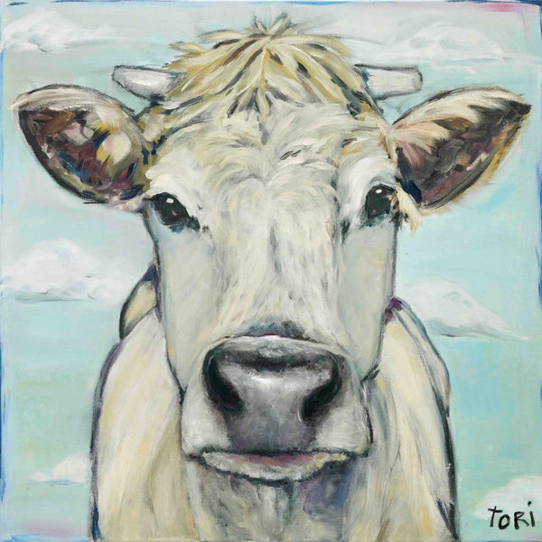 When Cows Fly Painting