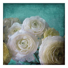 Posters & Prints - Yellow Ranunculus Painting