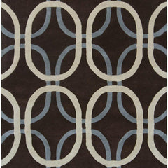 Rowe 11105 Area Rug - Brown/Cream/Grey