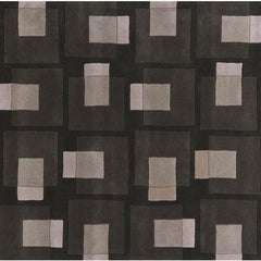 Bense 3009 Rug - Black/Grey/Ivory