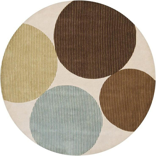 Bense 3024 Rug - Cream/Blue/Green/Brown