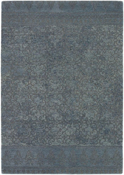 Berlow 32101 Wool Area Rug - Blue/Grey
