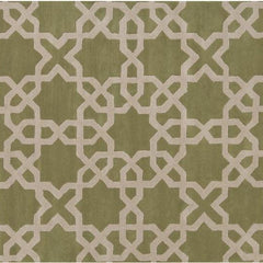 Rugs - Davin 25801 Rug - Green/Cream