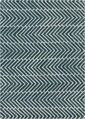 Rugs - Davin 25812 Rug - Blue/White