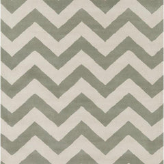 Rugs - Davin 25824 Rug - Grey/White
