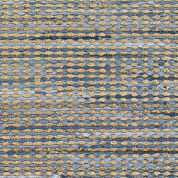 Chandra Rugs Easton 720 Reversible Area Rug Blue Tan