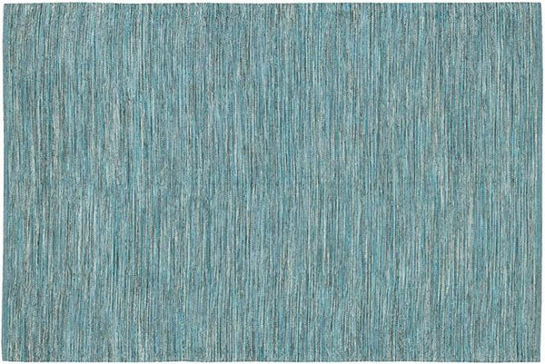 India Solid Rug - Blue