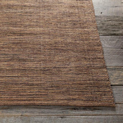 Rugs - India Solid Rug - Brown