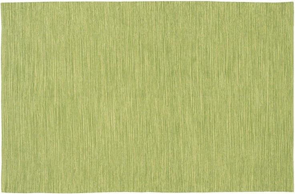 India Solid Rug - Light Green