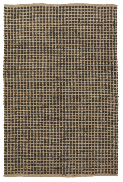 Jazz 1700 Reversible Area Rug - Tan/Black