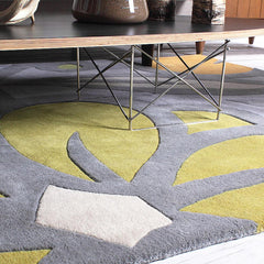 Rugs - Laguna In Flint & Kiwi Hand-Tufted Wool Rug