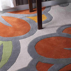 Rugs - Laguna In Prairie & Melon Hand-Tufted Wool Rug