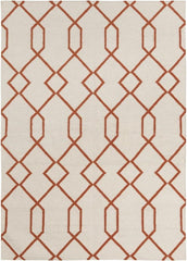 Rugs - Lima 25712 Rug - White/Orange