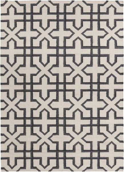 Lima 25740 Rug - White/Grey/Black
