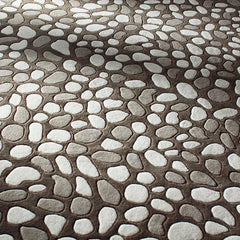 Rugs - Pumice Stone In Natural Hand-Tufted Wool Rug