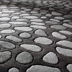 Rugs - Pumice Stone In Slate Hand-Tufted Wool Rug