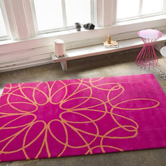 Rugs - Ribbon Rug - Pink/Orange