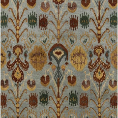 Rugs - Rupec 39608 Rug - Blue/Brown/Gold/Grey/Green