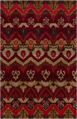 Rupec 39618 Rug - Red/Gold/Black/Taupe