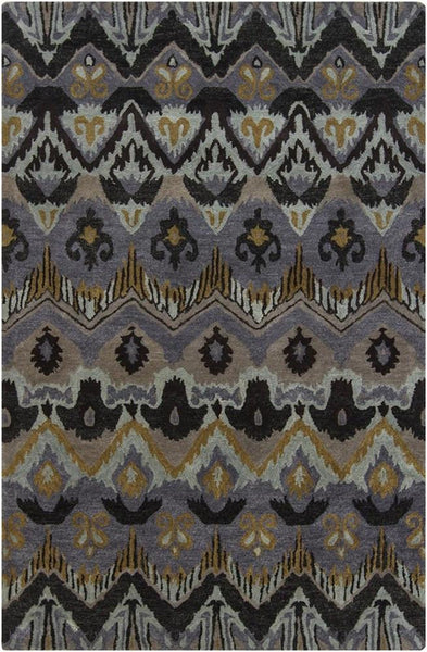Rugs - Rupec 39619 Rug - Grey/Taupe/Gold/Black