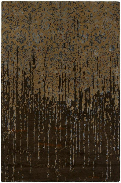 Rupec 39624 Rug - Brown/Blue