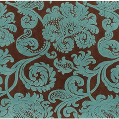 Rugs - Venetian 6002 Rug - Brown/Aqua
