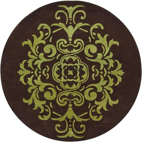 Venetian 6003 Rug - Brown/Green