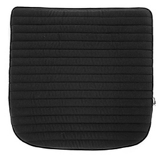 Quilted Sunbrella Seat Pad - Black - Outlet Item (Condition: Opened box)