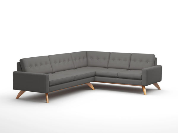Sectional Sofas - Luna 91x114 Inch Corner Sectional