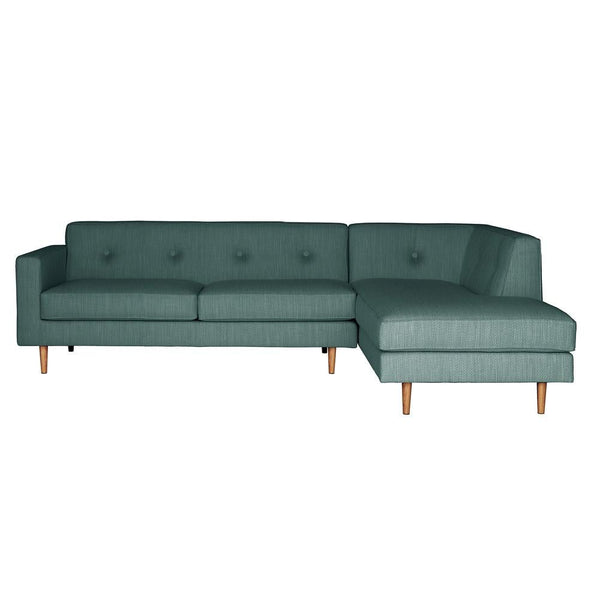 Sectional Sofas - Moulton 2-Seat Sofa + Right Corner Unit