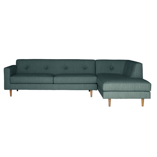 Sectional Sofas - Moulton 3-Seat Sofa + Right Corner Unit