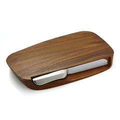 Serving Platters & Trays - Blend Bread Board With Knife