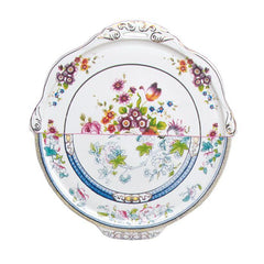 Serving Platters & Trays - Hybrid - Dorotea Round Tray In Porcelain