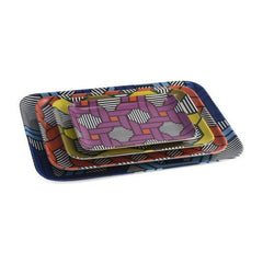 Serving Platters & Trays - Thomaspaul Geometric Nesting Tray Boxed Set Of 4