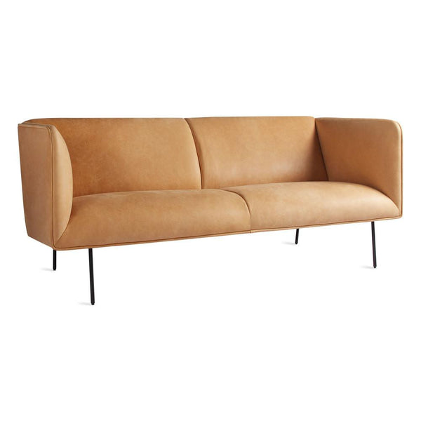 "Dandy 70"" Leather Studio Sofa"