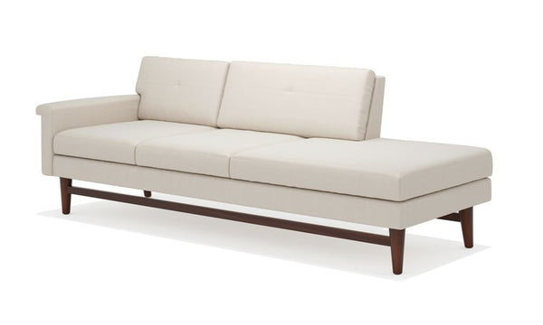 Sofas - Diggity 94inch One Arm Sofa With Chaise