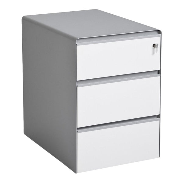 Song Three Drawer Pedestal