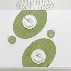 Table Linens - Mini Basketweave OnEdge Placemat