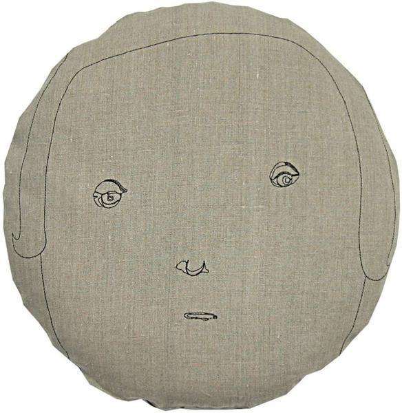 Round Face Female Pillow
