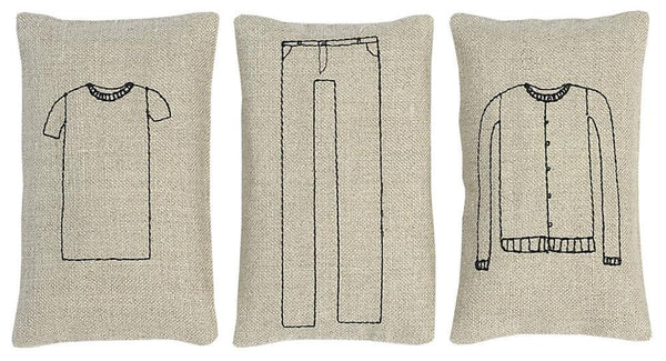Throw Pillows - Sachet Set - Clothes