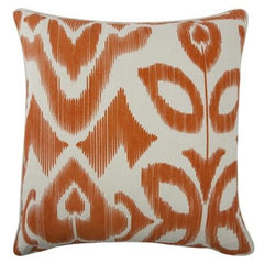 Throw Pillows - Thomaspaul Ikat Pillow - Alcazar