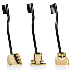 VIKTOR Toothbrush/Razor Holders -18K Gold