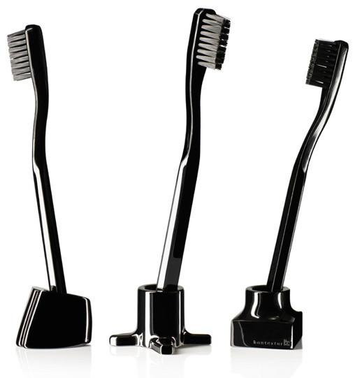 VIKTOR Toothbrush/Razor Holders - Black Nickel