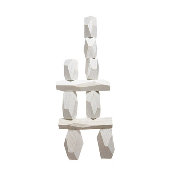 Toys & Games - Balancing Blocks - White