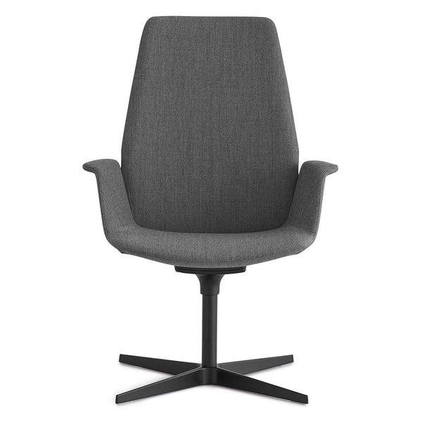 Uno High Back Office Chair - Cross Base