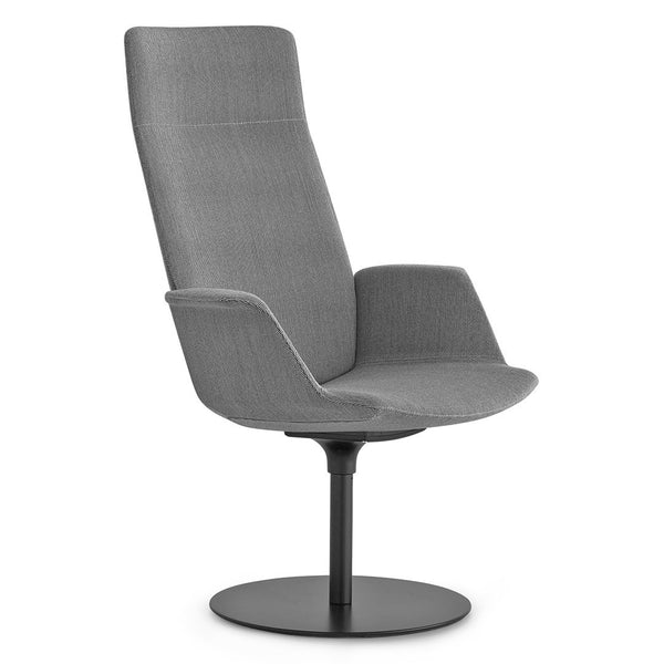 Uno Lounge Chair - Disc Base