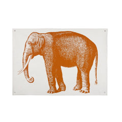 Wall Décor - Elephant Canvas Wall Panel - Alcazar