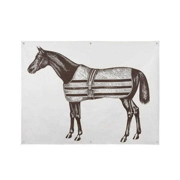 Wall Décor - Equestrian Canvas Wall Panel - Java