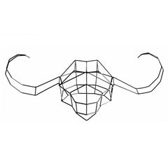 Wall Décor - Geometric Animals - Water Buffalo