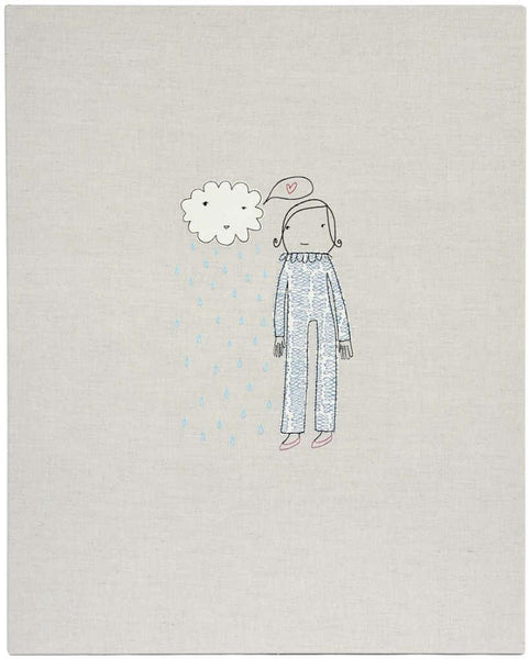 Wall Art - Girl with Cloud